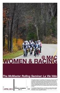 Women Racing Poster