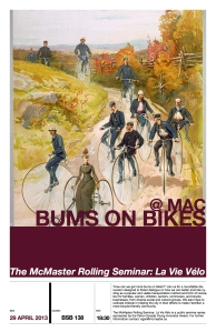 Bums Bikes Poster